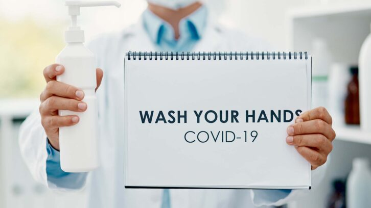 Wash your hands to prevent the spread of COVID-19