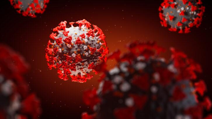 COVID-19 virus concept